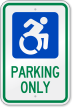 Modified ISA Sign (ADA Compliant)
