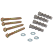 Lag Bolt and Shield Kit for Wheel Stop
