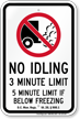 State Idle Sign for District of Columbia