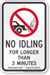 State Idle Sign for Philadelphia, Pennsylvania