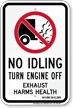 State Idle Sign for Missouri