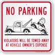 Funny Tow Away Signs