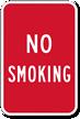 No Smoking Sign - Smoke Free