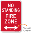 No Standing Sign