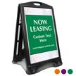 Now Leasing BigBoss Portable Custom Sidewalk Sign