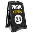 Park Open 24 A-Frame Sidewalk Sign Kit