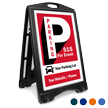 Parking For Event BigBoss Portable Custom Sidewalk Sign
