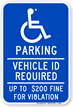 Minnesota ADA Handicapped Sign