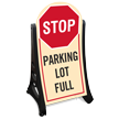 Parking Lot Full Sidewalk Sign Kit