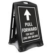 Pull Forward For Valet Sidewalk Sign
