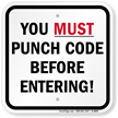 Property Security Sign