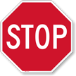 Reflective Aluminum STOP Sign