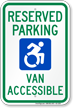 New York ADA Handicapped Parking Sign