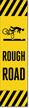 Rough Road FlexPost Reflective Adhesive Decal