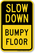 Slow Down Traffic Sign