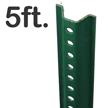 Standard U-Channel Sign Post - 5' tall