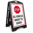 Stop All Vehicles Subject to Search BigBoss