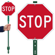 STOP Sign & Stand Kit