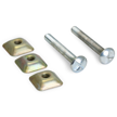 Tamperproof Attachment Hardware for Posts (2 bolts & 3 nuts)