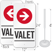 Valet Parking Sign & Post Kit