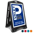 Valet Parking BigBoss Portable Custom Sidewalk Sign