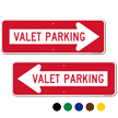 Valet Parking Directional Sign