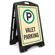 Valet Parking A-Frame Sidewalk Sign Kit