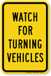 Road Warning Sign