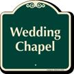 Wedding Chapel Signature Sign