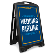 Wedding Parking Portable Sidewalk Sign