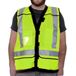 Reflective Safety Vest Yellow