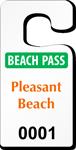 Plastic ToughTags™ Parking Permits, Jumbo