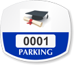 Student Window Decal 1.75 in. x 2 in.