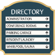 Florence Directory, 11.875 in. x 11.875 in.