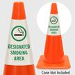 Designated Smoking Area Cone Collar