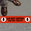 6in. X 24in. Anti-Slip Floor Sign