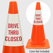 Drive Thru Closed Cone Collar