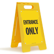 FloorBoss XL™ Free-Standing Sign