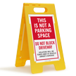 FloorBoss XL™ Floor Stand Sign