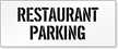 Restaurant Parking Lot Stencil