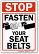 Wear Seat Belt Sign