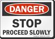 OSHA Danger Sign
