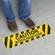 Watch Your Step Caution Slip-Resistant Floor Sign