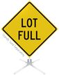 Lot Full Roll-Up Sign