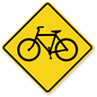 Bicycle Symbol - Traffic Sign