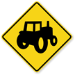 Tractor Symbol - Traffic Sign