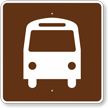 Bus Stop, MUTCD Guide Sign for Campground