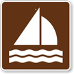 Sailing, MUTCD Guide Sign for Campground