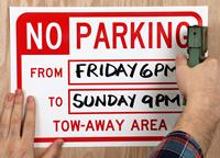 No Parking SignBook