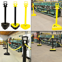 Xtreme Duty Plastic Stanchion Post